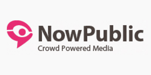 NowPublic. Crowd-sourced news